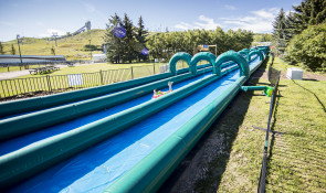 WinSport OutdoorEvents GirlonWaterSlide